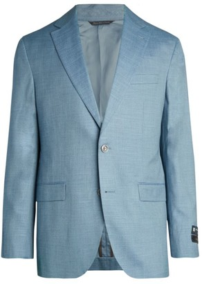 Saks Fifth Avenue COLLECTION Textured Solid Sportcoat