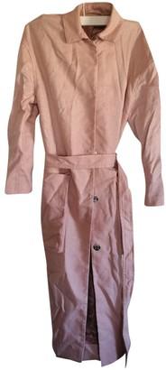 Samsoe & Samsoe Pink Trench Coat for Women