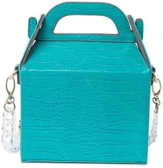 Lulu Rubey Lunch Box Crossbody Bag