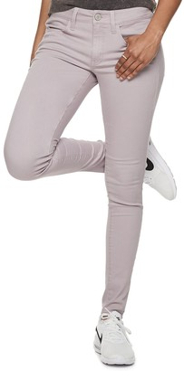 Juniors' SO Color Low Rise Twill Jeggings