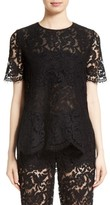 ADAM by Adam Lippes Women's Lace Tee