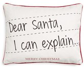 Levtex 'Dear Santa, I Can Explain' Pillow