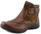 Earth Origins Dayton W Round Toe Leather Ankle Boot.