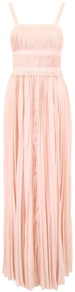 Ulla Johnson Draped Plisse Gown