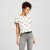 Xhilaration Women's Positive Negative Tee White Juniors')