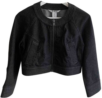 Diane von Furstenberg Anthracite Denim - Jeans Jackets