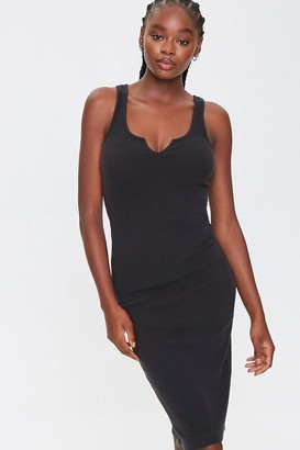 Forever 21 Split-Neck Tank Dress