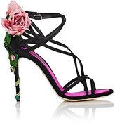 Dolce & Gabbana Women's Keira Satin Sandals