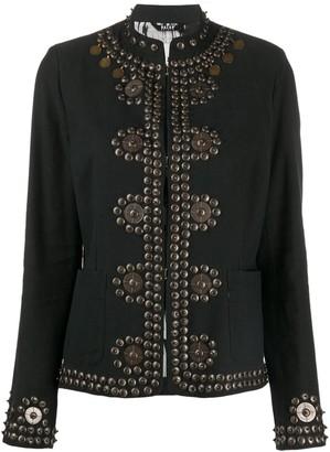 Bazar Deluxe Stud Embellished Jacket