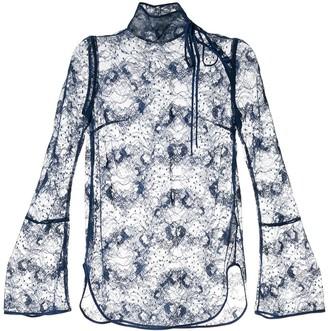 Mame Kurogouchi Sheer Lace Blouse