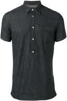 Hydrogen denim polo shirt - men - Cotton/Spandex/Elastane - M