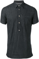 Hydrogen denim polo shirt - men - Cotton/Spandex/Elastane - S