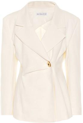 REJINA PYO Jodie linen and cotton blazer