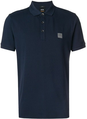 HUGO BOSS Embroidered Logo Polo Shirt
