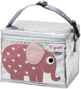3 Sprouts Lunch Bag - Elephant - One Size