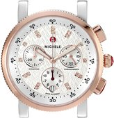 Michele Women's MW01N00L4980 Sport Sail 18 Analog Display Swiss Quartz Two-Tone Watch without Strap