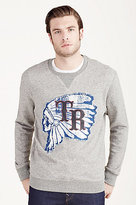 True Religion Logo Crewneck Mens Pullover
