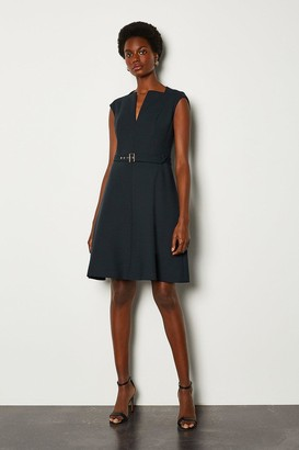 Karen Millen Envelope Neck A Line Dress
