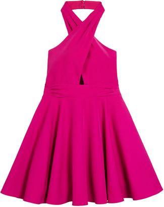 Milly Sydney Cady Halter Dress, Size 7-16