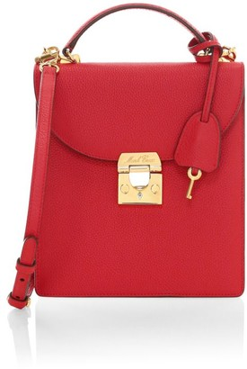 Mark Cross Francis Leather Crossbody Bag