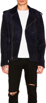Understated Leather Easy Rider Suede Jacket