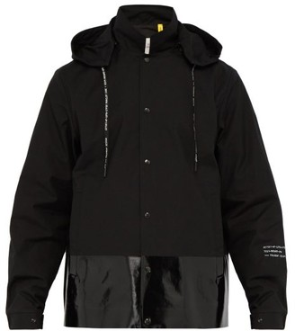 Moncler 7 Fragment - Ska Hooded Cotton Shell Jacket - Mens - Black