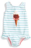 Infant Girl's Tucker + Tate Ruffle One-Piece Swimsuit