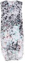 Great Plains Miquita Marble Printed Sleeveless Tunic
