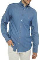 Gant Luxury Indigo Reg Shirt