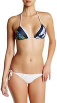 Clover Canyon Floral Bikini Top
