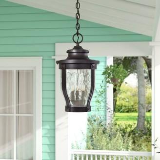 Charlton Homeâ® Urbanek 3-Light Outdoor Hanging Lantern Charlton HomeA