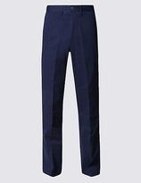 Blue Harbour Regular Fit Cotton Rich Trousers