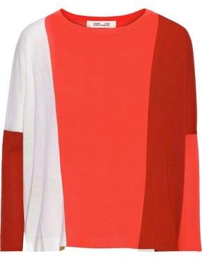 Diane Von Furstenberg Danna Ribbed Merino Wool Sweater Shopstyle