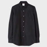 Paul Smith Men's Slim-Fit Black Cotton 'Artist Stripe' Cuff Shirt