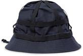 Dries Van Noten Grosgrain-Trimmed Cotton and Linen-Blend Bucket Hat