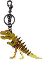 Coach Rexy Small Gold Leather Charm