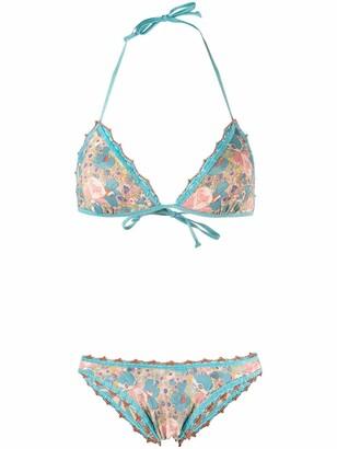 Anjuna Carina floral print bikini