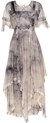 Mimi Prober Susanna tie-dye effect maxi dress
