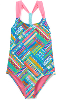 Vigoss Sugar Plum Venice Beach One-Piece - Girls