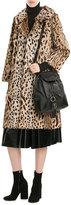 Anna Sui Animal Print Fur Coat