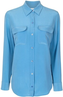 Equipment Signture silk shirt