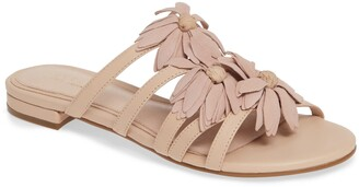Cecelia New York Flower Slide Sandal