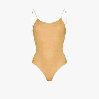 Oseree Lumiere low back swimsuit