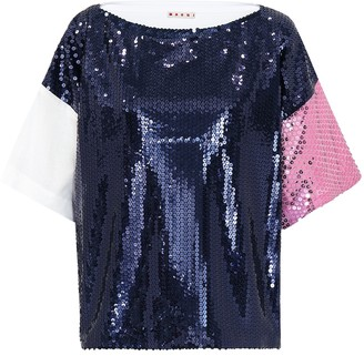 Marni Sequinned top