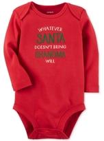 Carter's Whatever Santa Doesn't Bring Grandma Will Cotton Bodysuit, Baby Boys & Girls (0-24 months)