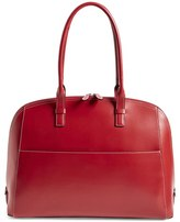 Lodis 'Audrey Collection - Buffy' Leather Shoulder Bag - Orange