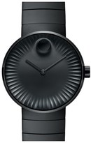 Movado 'Edge' Bracelet Watch, 40mm