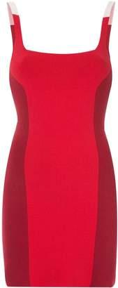 Nagnata colour block mini dress