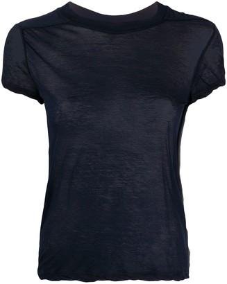 Rick Owens semi-sheer T-shirt