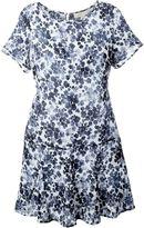 MICHAEL Michael Kors floral print shortsleeved dress